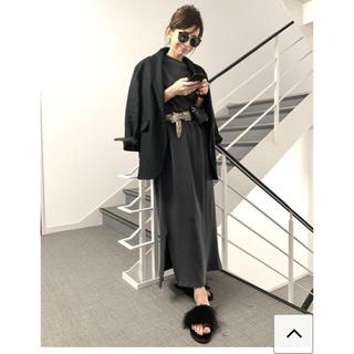 L'Appartement DEUXIEME CLASSE - Dress  BILLY  チャコール グレー ★