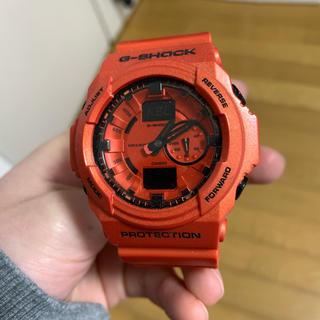 ジーショック(G-SHOCK)のG-SHOCK BIG CASE Gショック オレンジ(腕時計(デジタル))