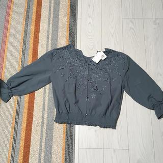 w closet - 新品未使用タグ付ダブルクローゼット2点セットw closetニット長袖カットソー