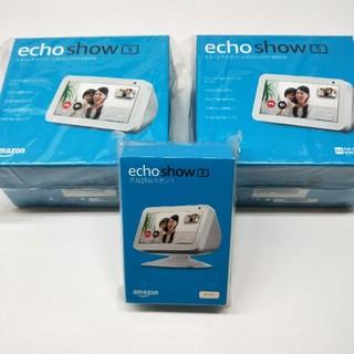 エコー(ECHO)のamazon echo show5 未開封新品2台セット 純正スタンド付(スピーカー)