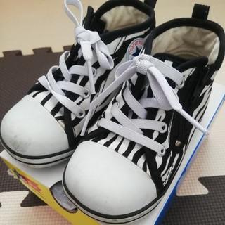 CONVERSE - 綺麗め★15cm コンバース ハイカット スニーカー トラ柄 アニマル