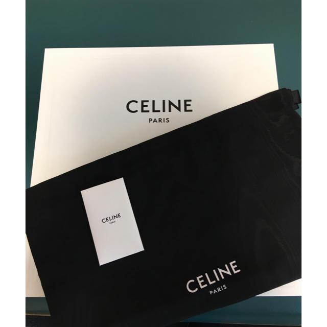 celine(セリーヌ)の【ローランド様専用・売約済み】【箱・付属品完備】セリーヌ メンズブーツ メンズの靴/シューズ(ブーツ)の商品写真