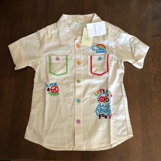 サンカンシオン(3can4on)の3can 4on  半袖シャツ 120  未使用(Tシャツ/カットソー)