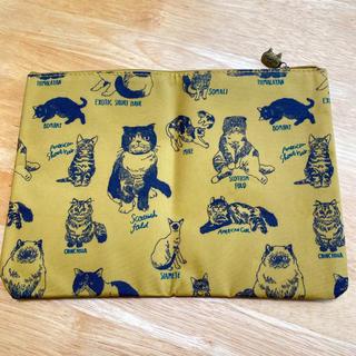 タカラジマシャ(宝島社)のmarble SUD マーブルシュッド 猫ポーチ(ポーチ)