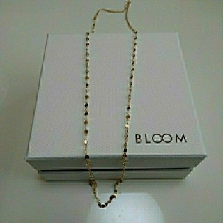 BLOOM - K10金ネックレス 60~80㎝調整可能