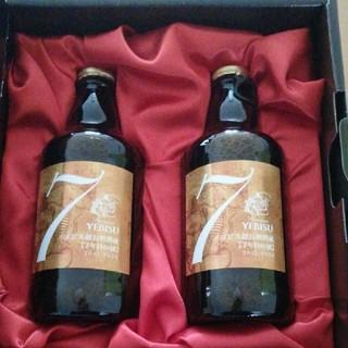 【エビス 超長期熟成 7年目の刻】ビール瓶305ml×2本セット、化粧箱付