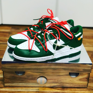 NIKE - NIKE DUNK LOW OFF-WHITE PINE GREEN WHITE