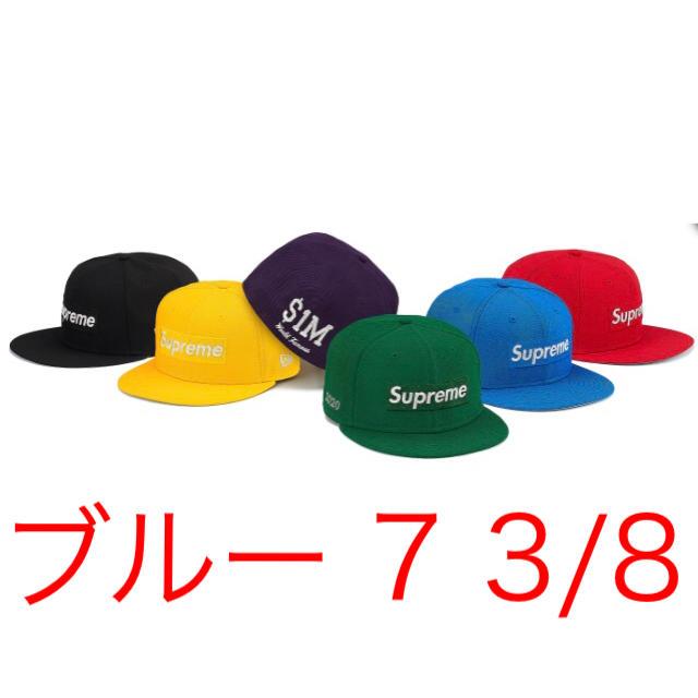 Supreme(シュプリーム)のsupreme 20ss metallic logo newera メンズの帽子(キャップ)の商品写真