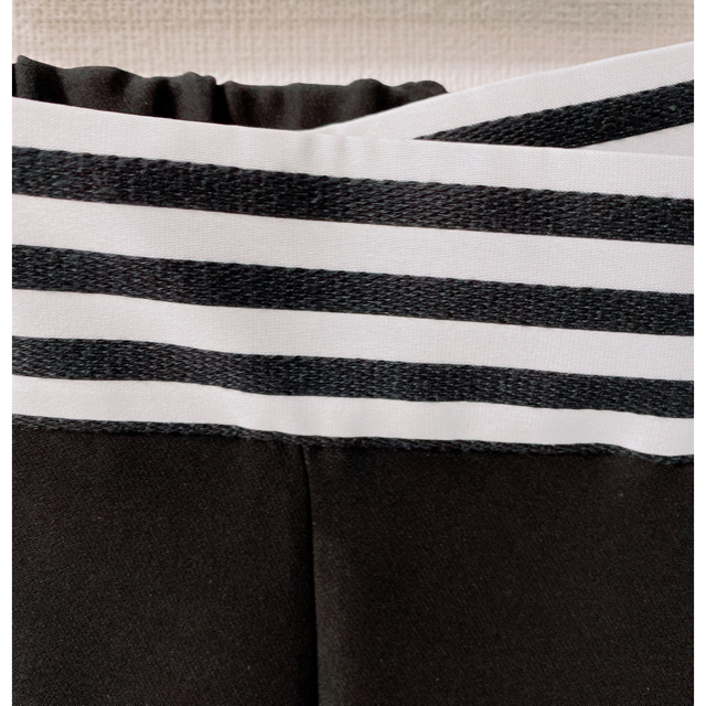 Drawer(ドゥロワー)のボーダーズアットバルコニー テーパードパンツ レディースのパンツ(クロップドパンツ)の商品写真