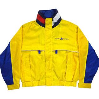 トミーヒルフィガー(TOMMY HILFIGER)の90年代❗️トミーヒルフィガー ナイロンジャケット size L(ナイロンジャケット)