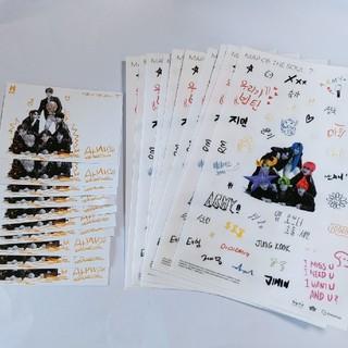 防弾少年団(BTS) - BTS アルバム シール ステッカー セット 付属品