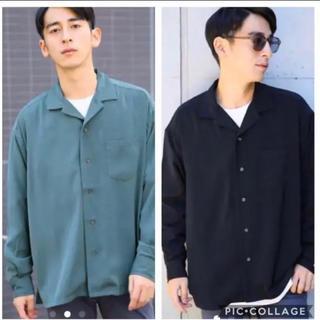 RAGEBLUE - 【65%OFF‼️】rageblue オープンカラーシャツFW カイキン