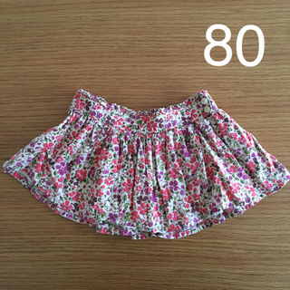 babyGAP - 花柄 スカート 80 babyGAP