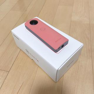 リコー(RICOH)の新品同様☆RICOH THETA SC PINK☆リコー☆シータ(コンパクトデジタルカメラ)