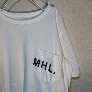 A.P.C - 【古着】MHL. Tシャツ S ホワイト 半袖 白T