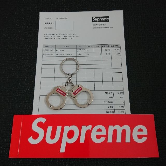 Supreme(シュプリーム)のSupreme Handcuffs Keychain 17aw メンズのファッション小物(キーホルダー)の商品写真