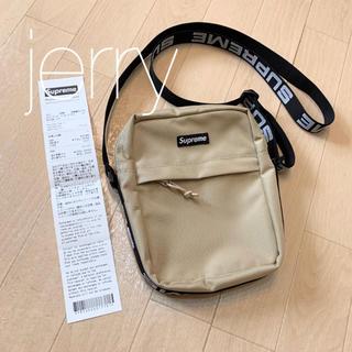 Supreme - 18ss Supreme Shoulder Bag ベージュ