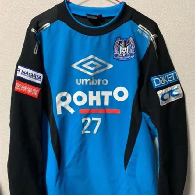 UMBRO(アンブロ)のガンバ大阪 ユニホーム 支給品 スポーツ/アウトドアのサッカー/フットサル(ウェア)の商品写真