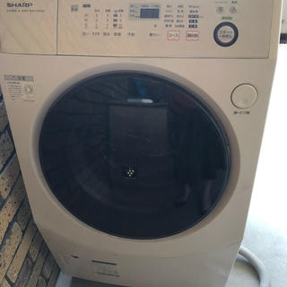 SHARP - シャープ ドラム式洗濯機 ES-V540-NL