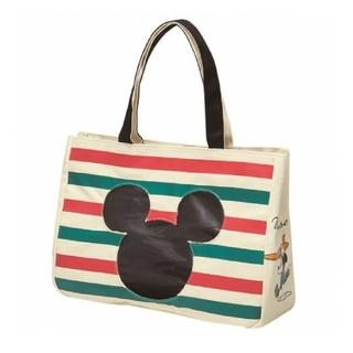 ミッキーマウス - ミッキー クリアポケット トートバッグ 新品