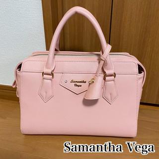 Samantha Vega - Samantha Vega♡スクエア型ボストンバッグ♡ピンク♡量産型