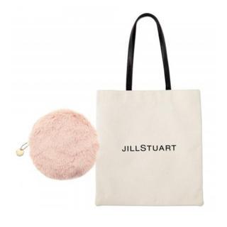 JILLSTUART -  sweet 2月号の付録 JILL STUART ロゴトート&ファーポーチ。