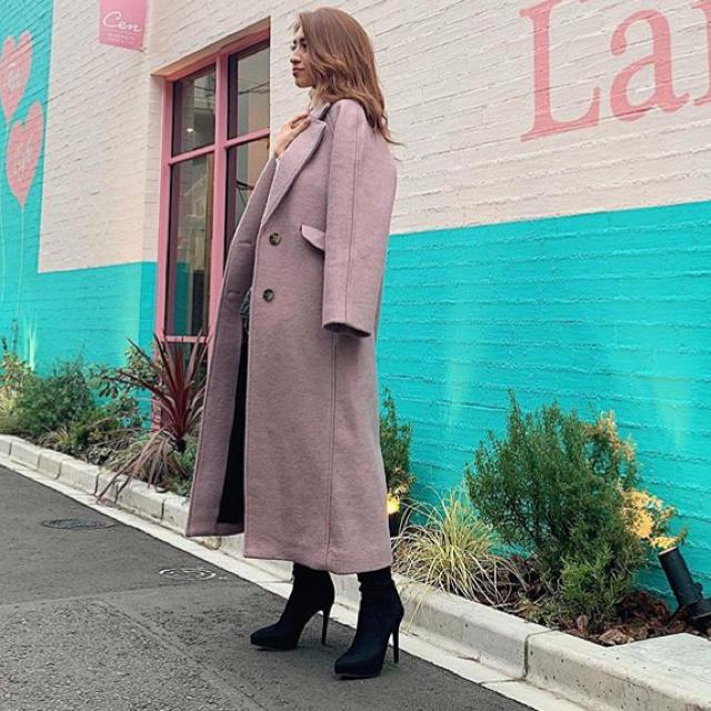 moussy(マウジー)のマウジーコート レディースのジャケット/アウター(ロングコート)の商品写真