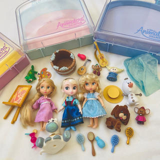 Disney - アニメータードール ディズニー プリンセス ラプンツェル シンデレラ アナ