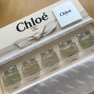 クロエ(Chloe)のクロエ 新品 5点セット ミニセット ローズ ド パヒューム(香水(女性用))