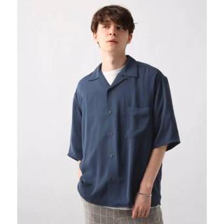 HARE - 【50%OFF‼️】hare サテンカイキンシャツSS オープンカラーシャツ