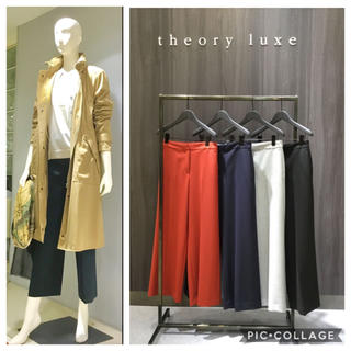 Theory luxe - ✤2018FW theory luxe ウォッシャブル パンツ✤セオリーリュクス