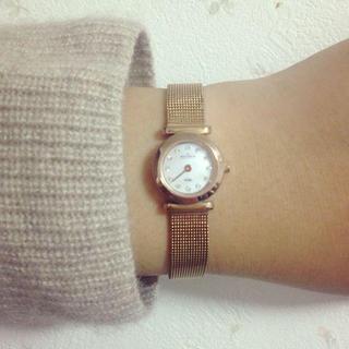 スカーゲン(SKAGEN)の稼働中ピンクゴールド時計(腕時計)