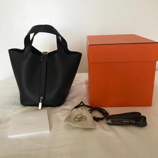Hermes - ピコタンPM ブラック 新品