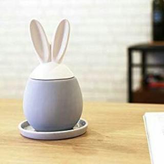 うさぎ 加湿器 陶器