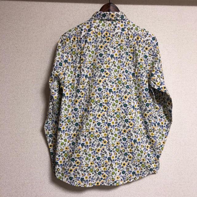 BEAMS(ビームス)のBEAMS リバティシャツ長袖シャツ 総柄シャツ 小花柄シャツ カッターシャツ メンズのトップス(シャツ)の商品写真
