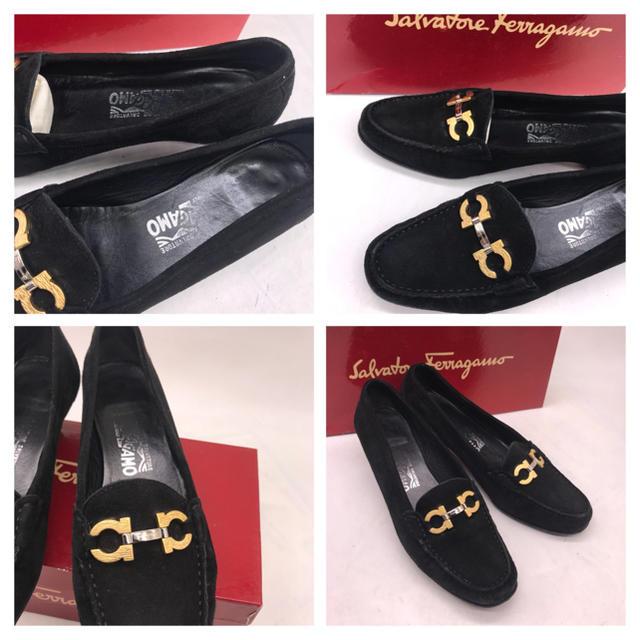 Salvatore Ferragamo(サルヴァトーレフェラガモ)のゴールド&シルバーガンチーニがポイント‼️ サルヴァトーレ フェラガモパンプス レディースの靴/シューズ(ハイヒール/パンプス)の商品写真