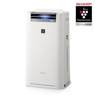 SHARP - 【送料無料】シャープ 加湿空気清浄機 プラズマクラスター KI-HS50-W