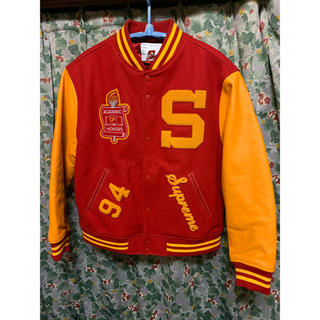 Supreme - Supreme Team Varsity Jacket スタジャン サイズL