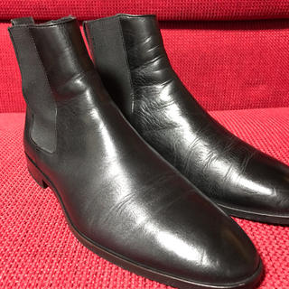 バーバリーブラックレーベル(BURBERRY BLACK LABEL)のバーバリー ブラックレーベル サイドゴアブーツ 26センチ(ブーツ)