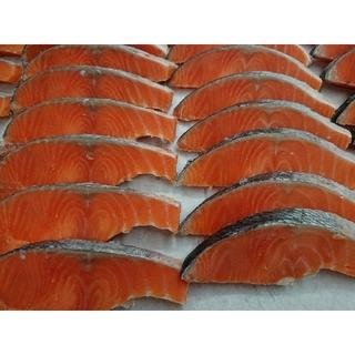 養殖 チリ産 銀鮭 50切【切り身・冷凍・加熱用】