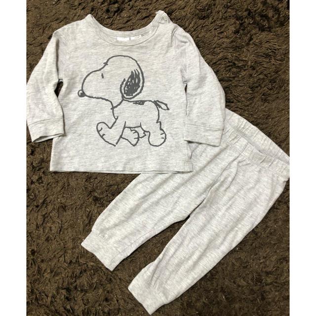 ZARA KIDS(ザラキッズ)のH&M パジャマ セットアップ 70サイズ キッズ/ベビー/マタニティのベビー服(~85cm)(パジャマ)の商品写真