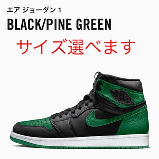 NIKE - Air Jordan 1 Retro High OG Pine green