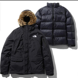 THE NORTH FACE - THE NORTH FACE インナーダウン付アウター