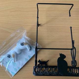 フェリシモ(FELISSIMO)のフェリシモ 猫部 傘タグとアクセサリースタンドセット(小物入れ)