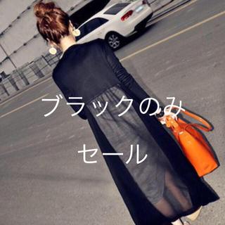 dholic - 💕体型カバー  オシャレ ロング💕ホワイト完売