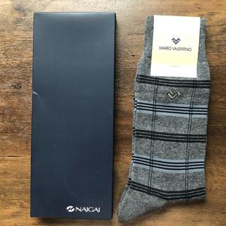マリオバレンチノ(MARIO VALENTINO)の【新品】MARIO VALENTINO 靴下 25〜27cm(その他)