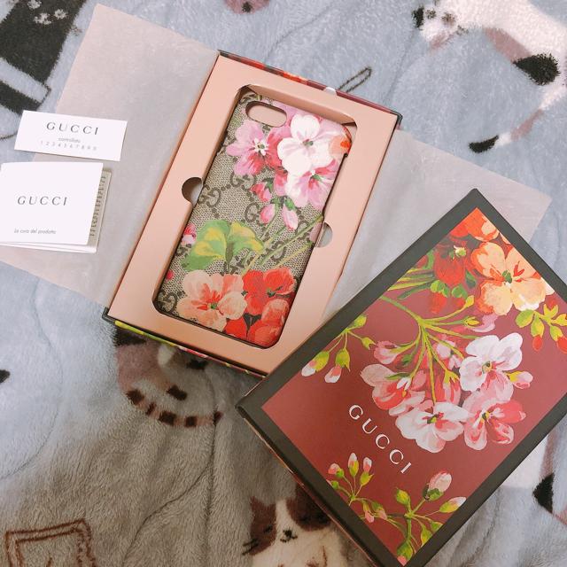 Gucci - GUCCI ブルームス iPhone7 8 ケースの通販