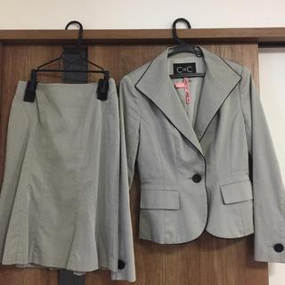 クードシャンス(COUP DE CHANCE)のクードシャンス グレー スーツ上下セット(スーツ)