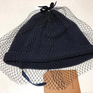 トゥデイフル(TODAYFUL)のE01135/TODAYFULトゥデイフルTulle Knit Cap(ニット帽/ビーニー)