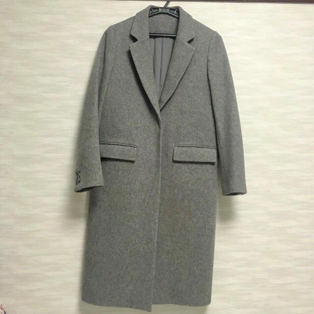 Mila Owen(ミラオーウェン)のミラオーウェン チェスターコート グレー サイズ0 レディースのジャケット/アウター(チェスターコート)の商品写真